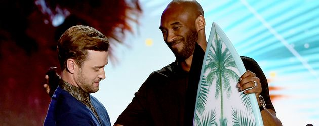 Justin Timberlake und Kobe Bryant bei den Teen Choice Awards in Los Angeles