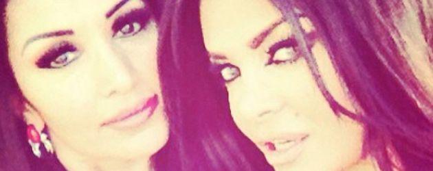 Selfie von Kader Loth und ihrer jüngeren Schwester Eren