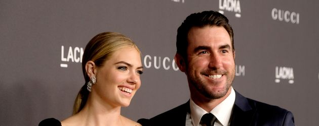Kate Upton und Justin Verlander 2016 in Los Angeles