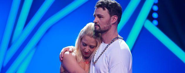 Kathrin Menzinger und Heinrich Popow, Let's Dance-Tanzpaar