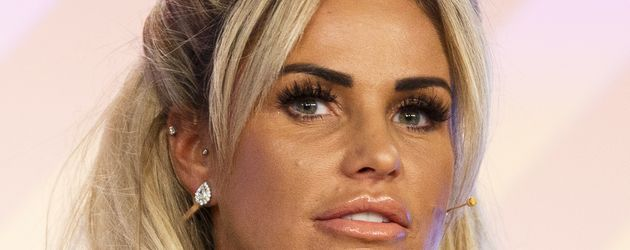 Katie Price bei einem Festival in London