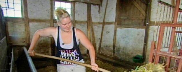 Nackte Frau Im Stall