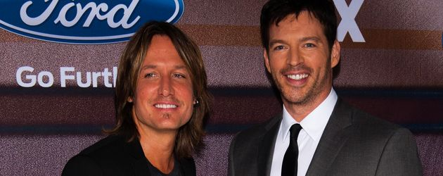 Keith Urban und Harry Connick Jr.