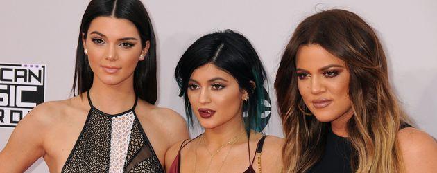 Kendall Jenner, Kylie Jenner und Khloe Kardashian