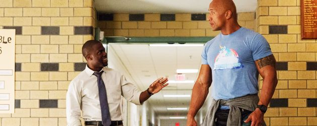Kevin Hart und Dwayne Johnson im Film Central Intelligence