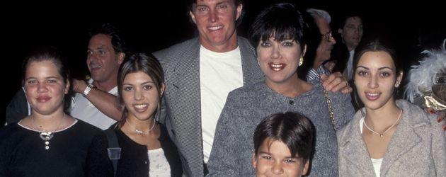 Khloe Kardashian, Kim Kardashian, Kourtney Kardashian, Kris Jenner und Bruce Jenner