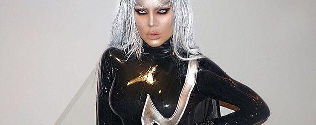 Khloe Kardashian als Storm an Halloween 2016