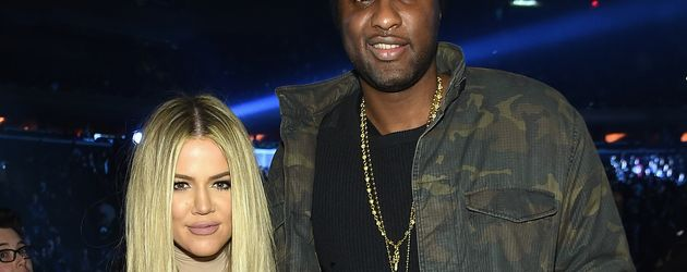 Reality-Star Khloe Kardashian (l.) und Lamar Odom