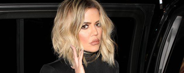 Khloe Kardashian nach Schwester Kendalls 21. Geburtstagsfeier 2016 in Hollywood