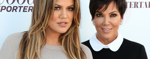 Khloe Kardashian und Kris Jenner