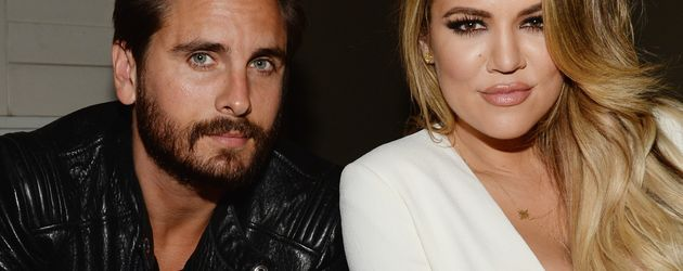 Khloe Kardashian und Scott Disick