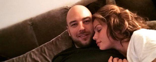 Kim Gloss und ihr Freund Alexander Beliaikin