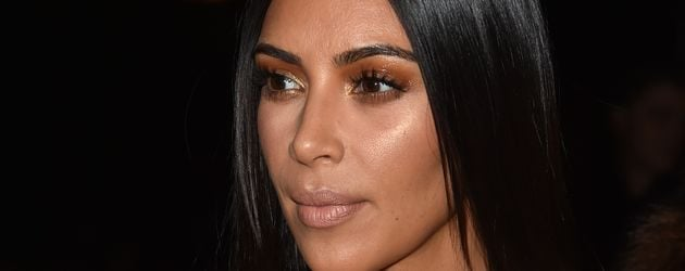 Kim Kardashian bei Givenchy auf der Pariser Fashion Week