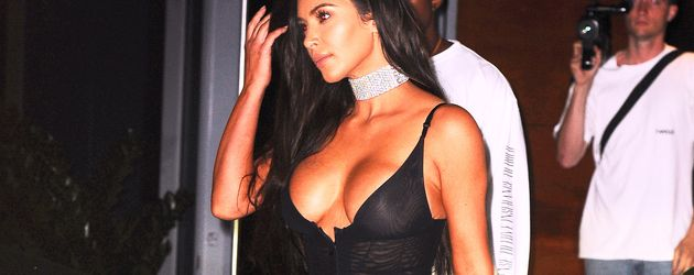 Kim Kardashian unterwegs in Miami