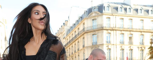 Kim Kardashian wird von Vitalii Sediuk angegriffen in Paris