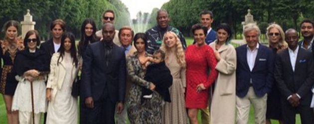 Khloe Kardashian, Kylie Jenner, Kim Kardashian, Kanye West, Kendall Jenner, Kourtney Kardashian und