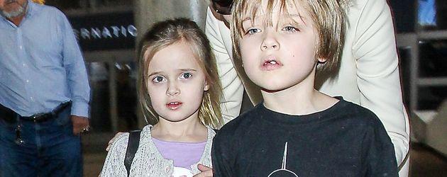Vivienne Jolie-Pitt und Knox Jolie-Pitt