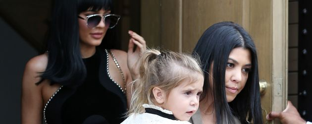 Kylie Jenner, Kourtney Kardashian und Penelope Disick