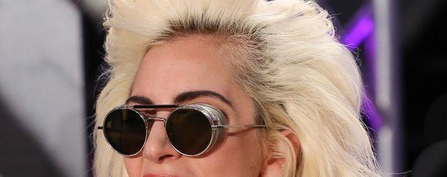 Lady Gaga bei einem Auftritt in New York