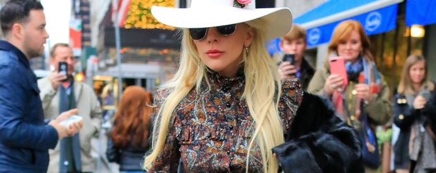 Lady Gaga während Thanksgiving in New York