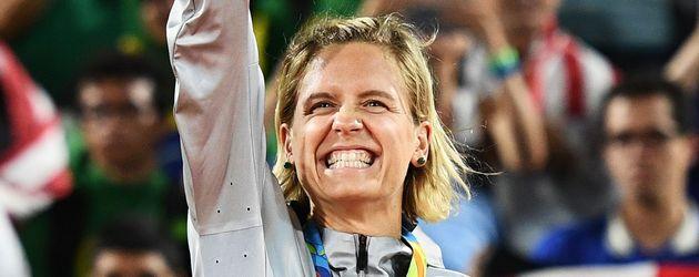 Laura Ludwig , deutsche Beach-Volleyballerin und Olympia-Gold-Gewinnerin 2016