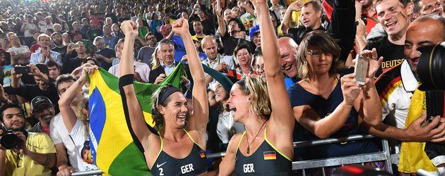 Beachvolleyball-Stars: Kira Walkenhorst und Laura Ludwig