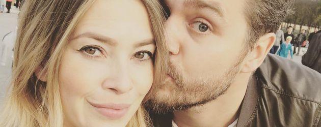 Schauspielerin Laura Osswald mit Ehemann Krishan in den USA