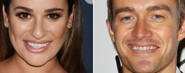 Lea Michele und Robert Buckley