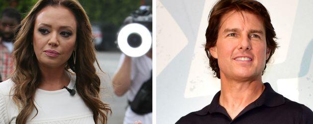 Tom Cruise und Leah Remini