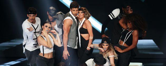 "Leonard Freier und Sabia Boulahrouz bei ""Dance Dance Dance"""