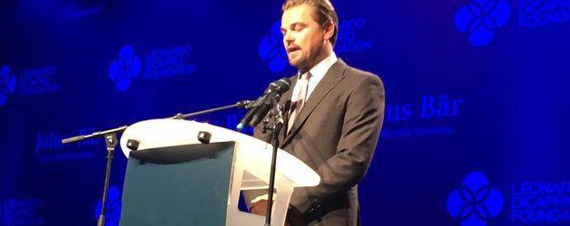 Leonardo DiCaprio bei seiner Foundation-Gala
