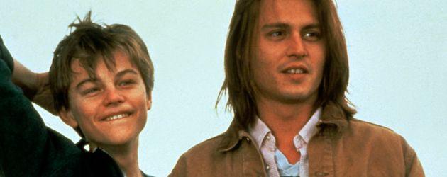 "Leonardo DiCaprio und Johnny Depp in ""Gilbert Grape - Irgendwo in Iowa"""