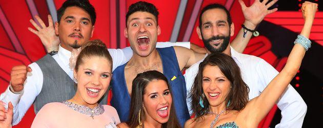 """Die Finalisten von """"Let's Dance"""" 2016"""