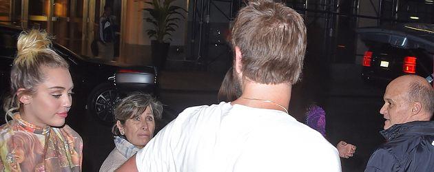Liam Hemsworth und Miley Cyrus in New York