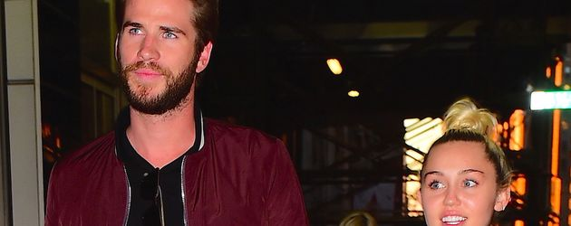 Liam Hemsworth und Miley Cyrus in New York City