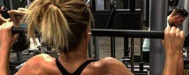 Lisa G. im Fitnessstudio