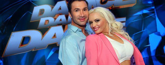 """Lucas Cordalis und Daniela Katzenberger bei """"Dance Dance Dance"""""""