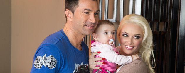 Lucas Cordalis und Daniela Katzenberger mit Sophia