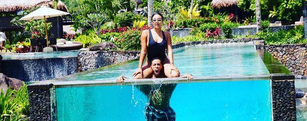 Ludacris und Eudoxie auf den Fiji-Inseln
