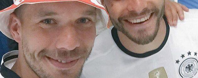 Lukas Podolski und Jonas Hector