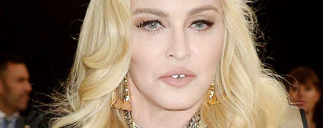 Madonna bei einer Benefiz-Veranstaltung in New York