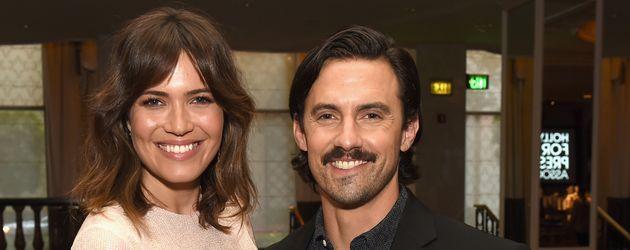 """Mandy Moore und Milo Ventimiglia auf der """"Hollywood Foreign Press Association's Grants Banquet"""""""