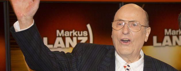 """Manfred Krug in der """"Markus Lanz Show"""""""