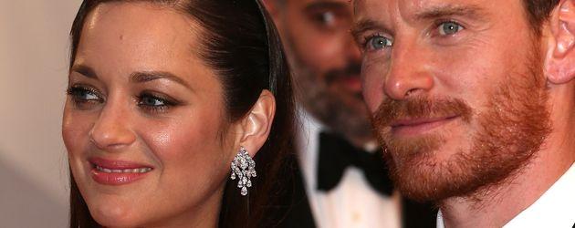 Michael Fassbender und Marion Cotillard