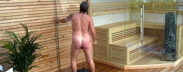 Beyonce nackt in der Dusche