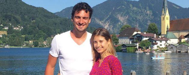 Mats und Cathy Hummels im Urlaub