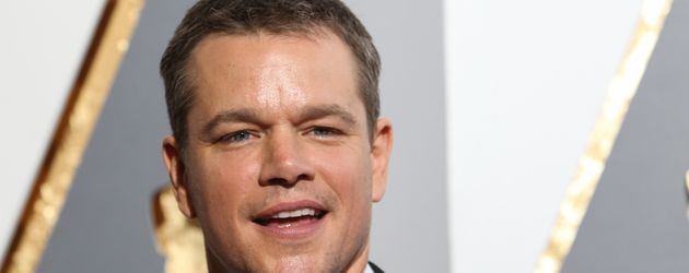 Hollywood-Star Matt Damon