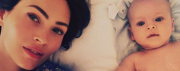 Megan Fox und ihr Baby Journey