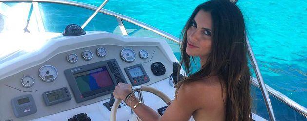Melissa Jimenez im Urlaub