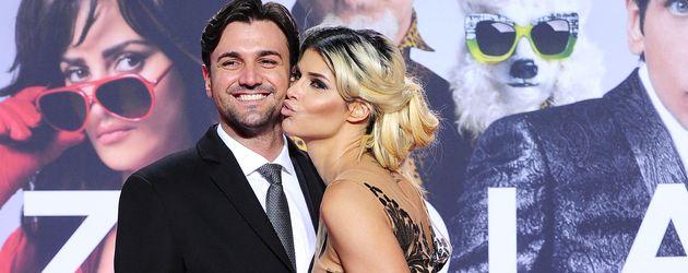 Micaela Schäfer mit ihrem Felix